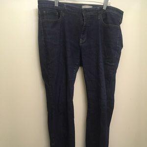 Uniqlo Jeans, dark wash, skinny fit